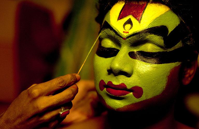 Катхакали макияж