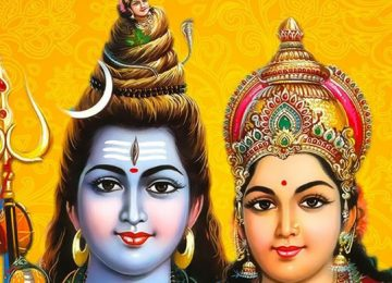 Шива и Богиня Парвати
