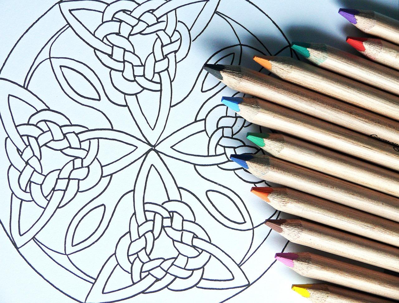 Мандала как нарисовать