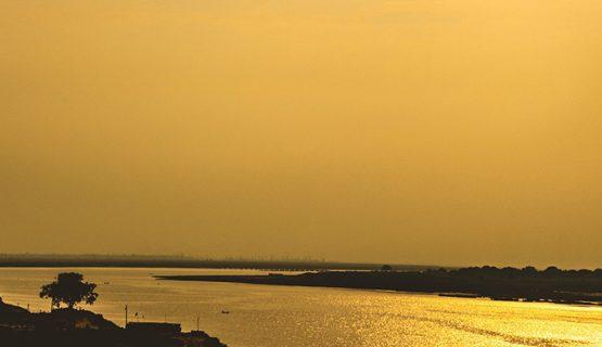Река Ганг в Индии