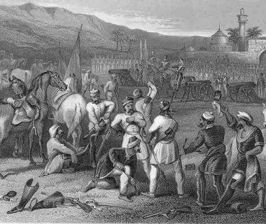 Восстание сипаев в Индии 1857-1859